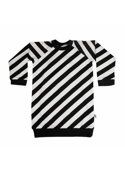 CarlijnQ Electric zebra sweaterdress