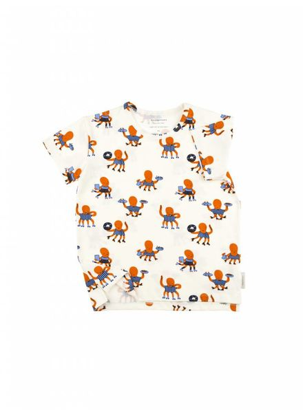 Tiny cottons Octopus ss tee off white