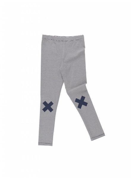 Tiny cottons Multi lines logo pant ss18-125 donkerblauw