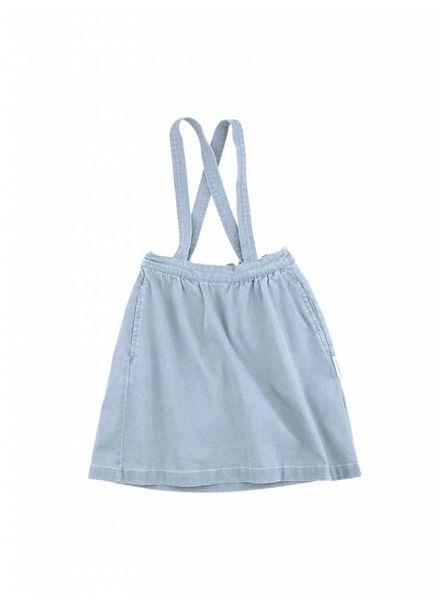 Tiny cottons Denim brace skirt SS18-234