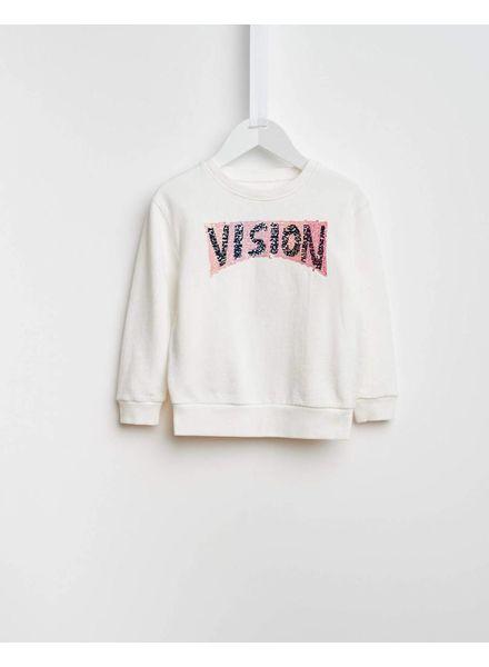 Bellerose Banzi sweater vison off white