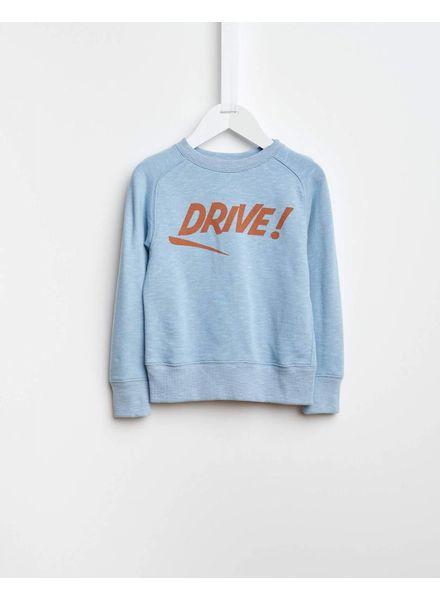 Bellerose Drive sweater lichtblauw