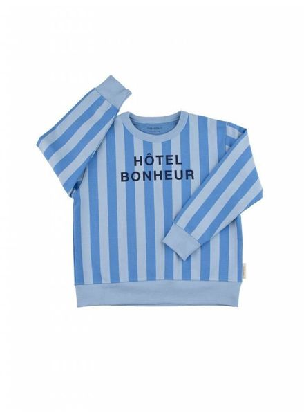Tiny cottons Hotel bonheur graphic sweater