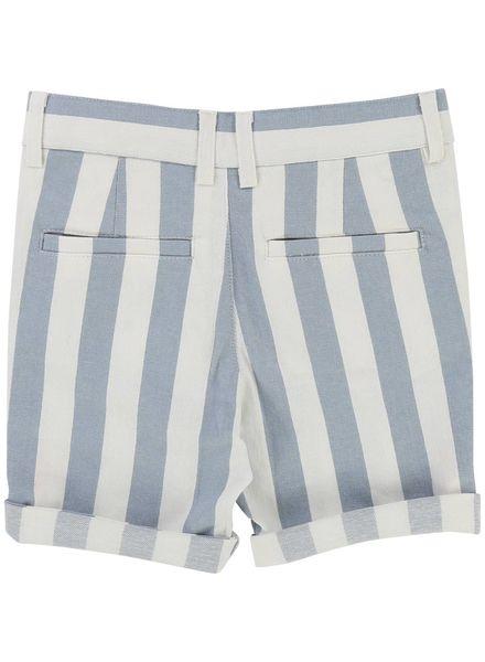 Carrement beau Short off white light blue v24146