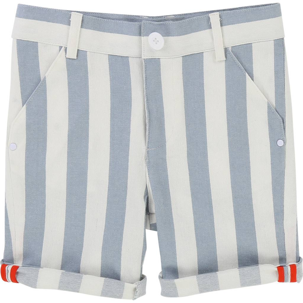 Carrement beau Short off white light blue v24146