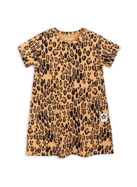 Mini rodini Basic dress leopard