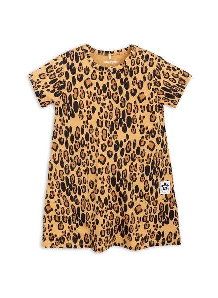 Mini rodini Basic dress leopard