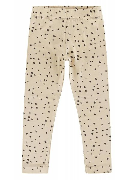 Maed for mini Pants sahara leopard dot