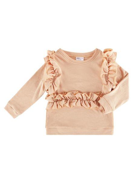 Maed for mini Sweet salmon sweater