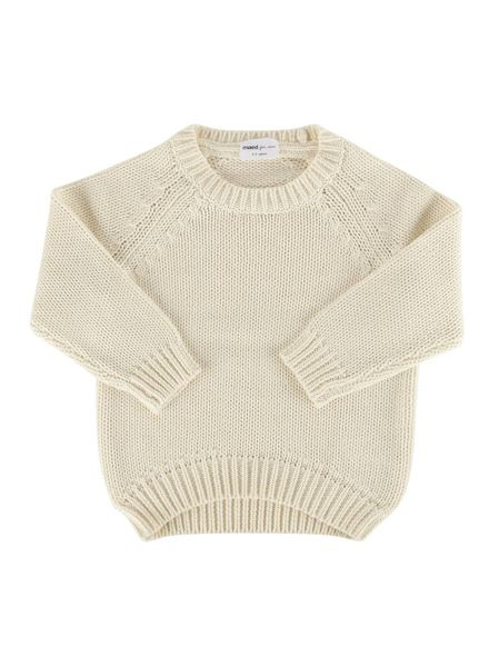 Maed for mini Knit sweater dusty dove