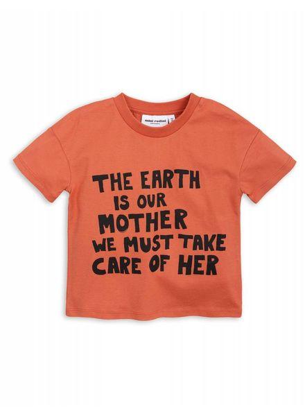 Mini rodini Mother earth ss tee warm
