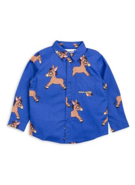 Mini rodini Donkey woven shirt