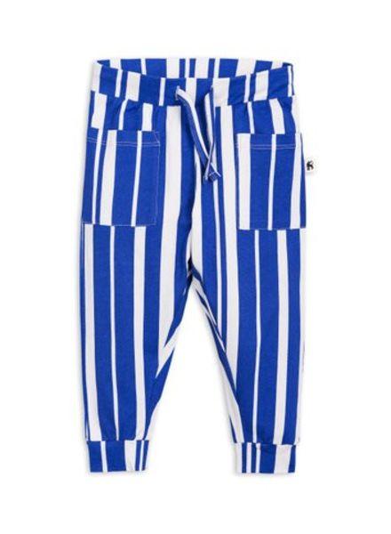 Mini rodini Odd stripe trousers blue