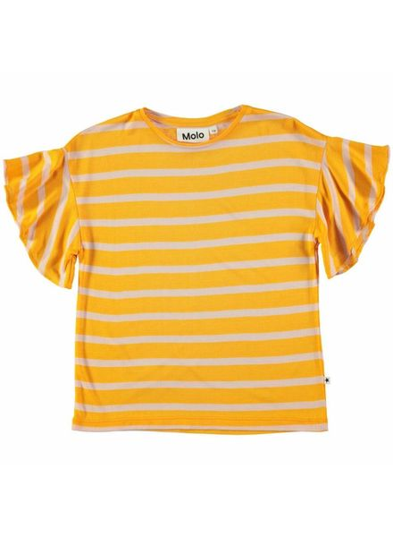 Molo Rakin sunshine stripe tshirt