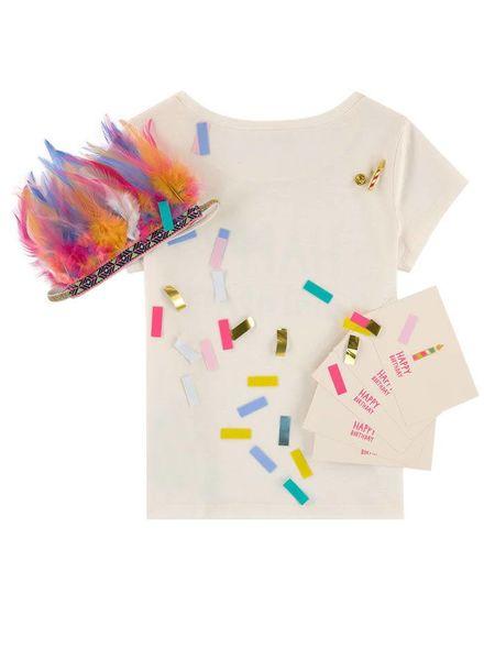 Billieblush Tshirt happy birthday set