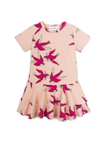 Mini rodini Swallow frill dress
