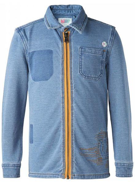 noppies Jogdenim jeans blouse 86105