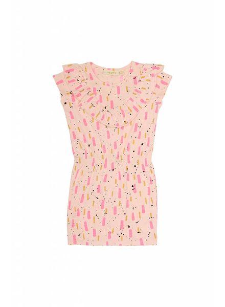 Soft Gallery Ariella Dress peach parfait