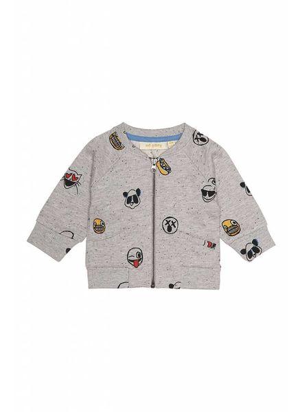 Soft Gallery Shay cardigan grey