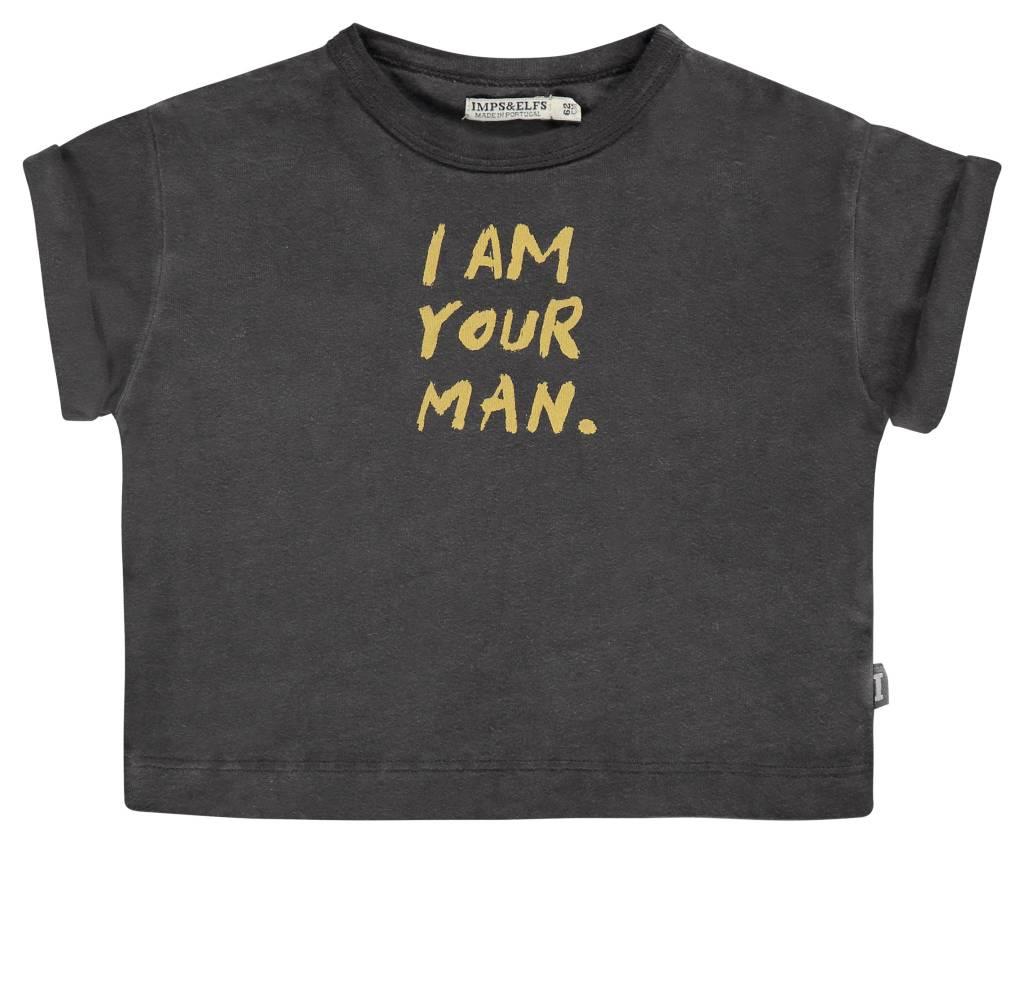 imps&elfs Tshirt i am your man 0924