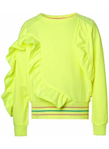 NOP Sweater fluor yellow