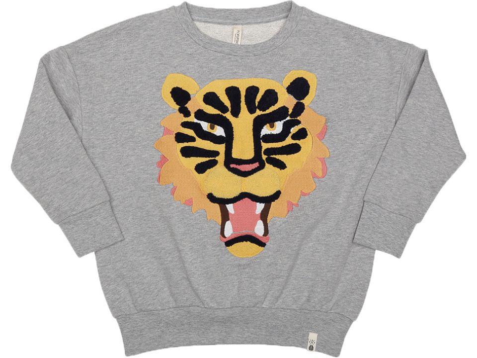 Popupshop Loose sweat tiger