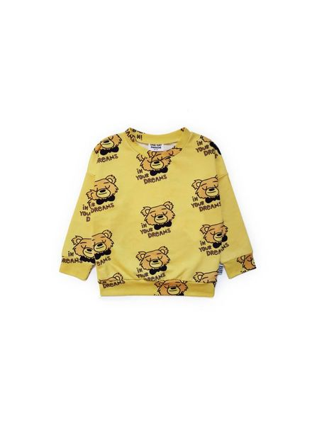 one day parade Bear sweater geel