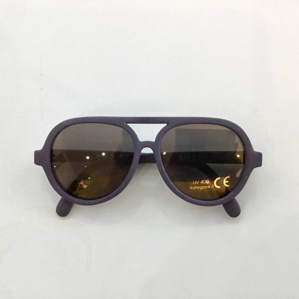 Zonnebril flexibel donkerblauw