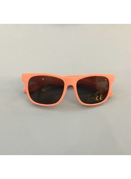 Zonnebril flexibel lichtroze hoekig