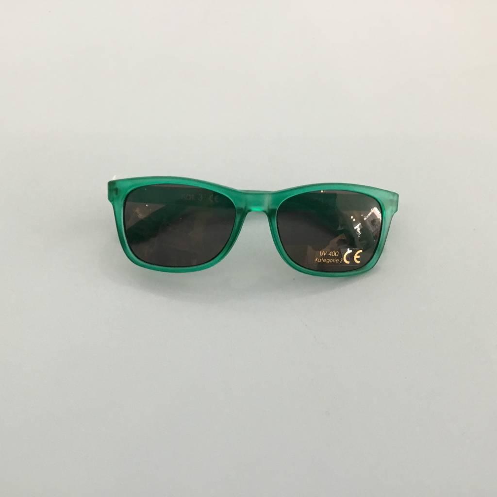 Zonnebril transparant groen