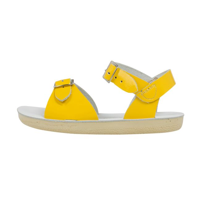 Saltwatersandals surfer shiny yellow