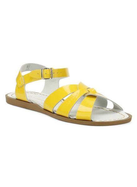 Saltwatersandals Salt water shiny yellow