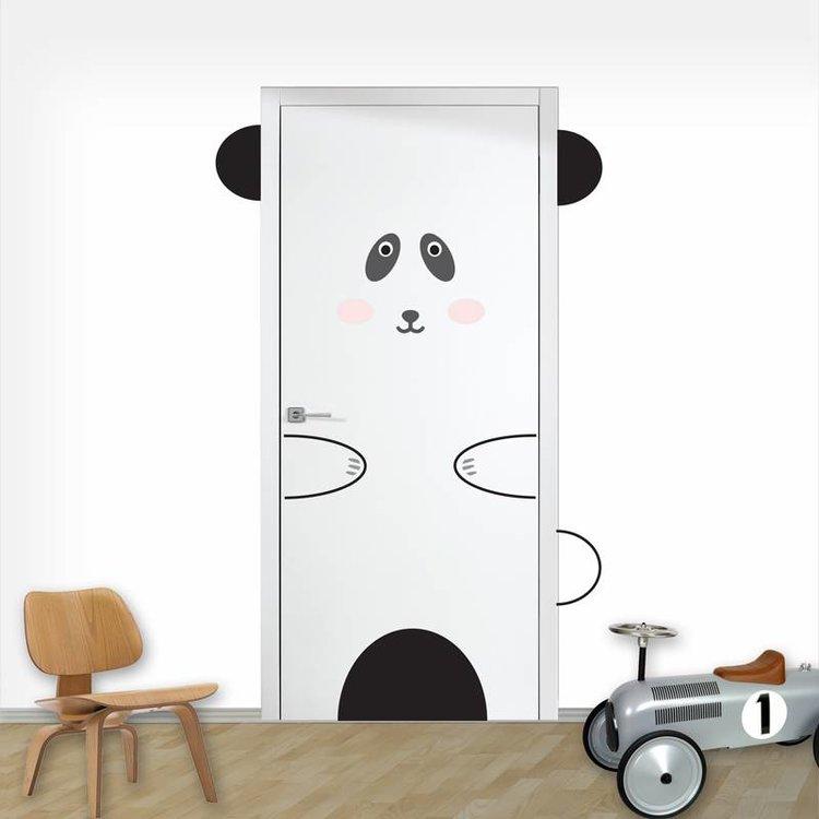 Deursticker Panda