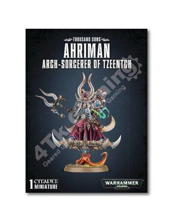 Games Workshop Ahriman Arch-Sorcerer Of Tzeentch