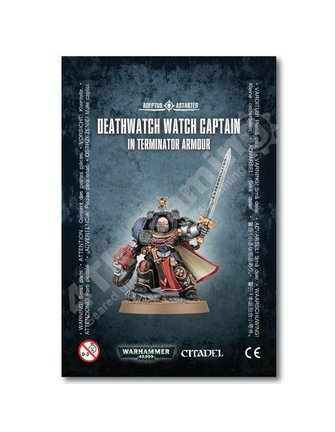 Games Workshop Deathwatch Watch Capt./Terminator Armour