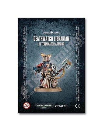 Games Workshop Deathwatch Librarian /Terminator Armour