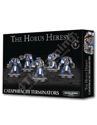 Games Workshop Horus Heresy: Cataphractii Terminators
