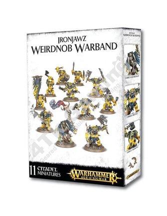 Age Of Sigmar Ironjawz Weirdnob Warband