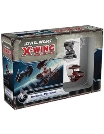 Fantasy Flight Games Imperial Veterans Expansion Pack: X-Wing Mini Game