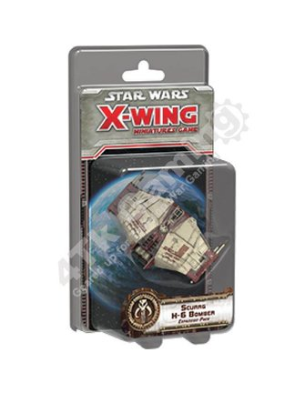 Fantasy Flight Games Scurgg H-6 Bomber Expansion Pack: X-Wing Mini Game