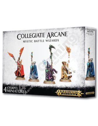 Age Of Sigmar Collegiate Arcane Mystic Battle Wizards