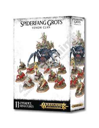 Age Of Sigmar Spiderfang Grotz Venom Clan