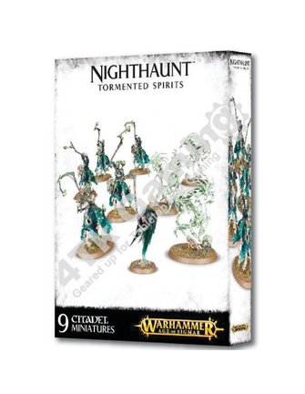 Age Of Sigmar Nighthaunt Tormented Spirits
