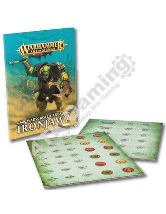 Age Of Sigmar Warscroll Cards: Ironjawz