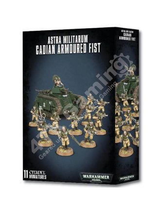 Games Workshop Astra Militarum Cadian Armoured Fist