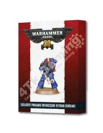 Games Workshop *30 Yrs Of 40K Primaris Veteran Sergeant