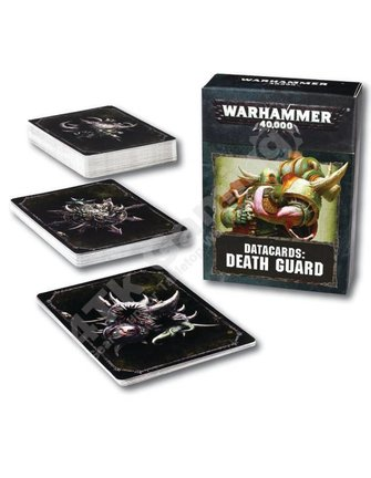 Games Workshop Datacards: Death Guard