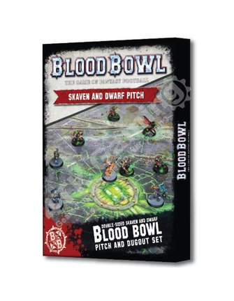 Blood Bowl Blood Bowl: Skaven and Dwarf Pitch