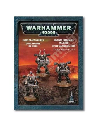 Games Workshop Chaos Space Marines (3 models)