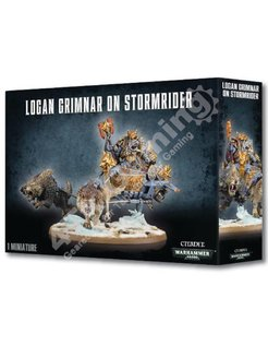 #Logan Grimnar On Stormrider